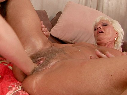 anal fisting blonde