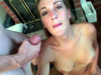 Brie sucking three massive cocks and swallowing cum from Free Blowjob Passport