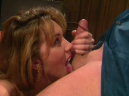 Rayveness gets tits and sensual mouth drilled by a huge penis from Free Blowjob Passport